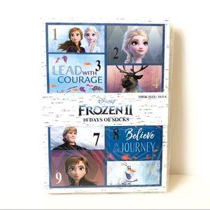Frozen II 10 Day Socks